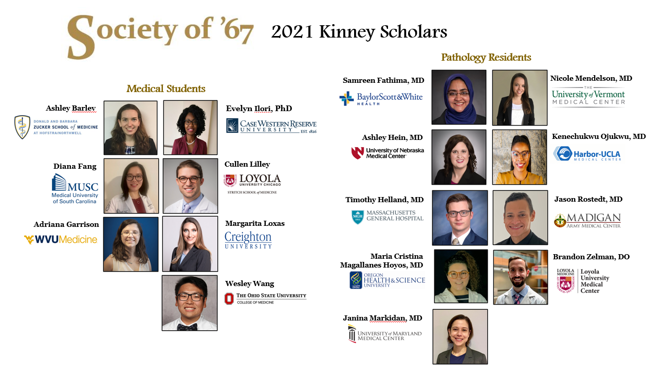 2021 Kinney Scholars